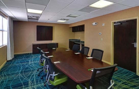 Conference room SpringHill Suites Dallas NW Highway at Stemmons/I-35E