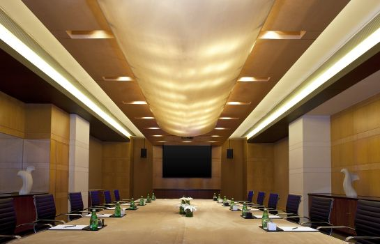 Conference room The Yuluxe Sheshan Shanghai a Tribute Portfolio Hotel