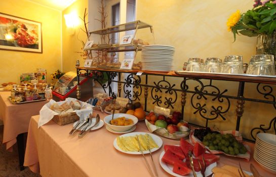 Breakfast buffet Ungheria Varese 1946