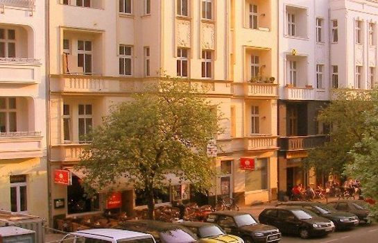 Vista esterna City Guesthouse Pension Berlin