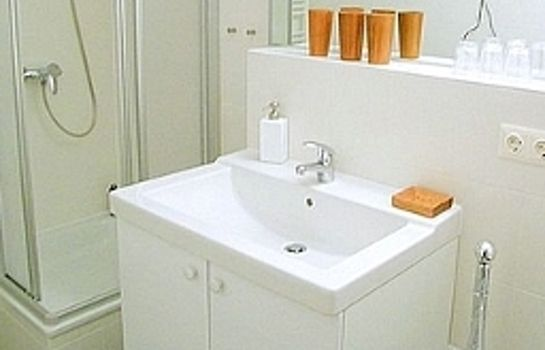 Bagno in camera City Guesthouse Pension Berlin