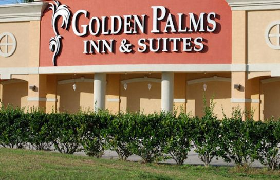 Exterior view GOLDEN PALMS INN AN