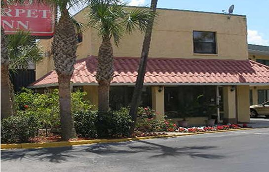 Vista exterior Red Carpet Inn St Augustine
