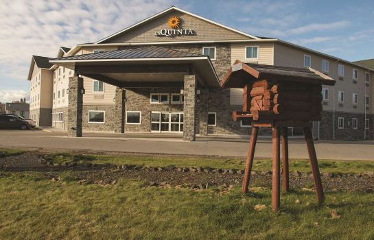 Buitenaanzicht La Quinta Inn Ste Fairbanks Airport