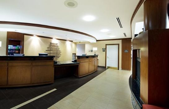 Hall de l'hôtel Residence Inn Mississauga-Airport Corporate Centre West