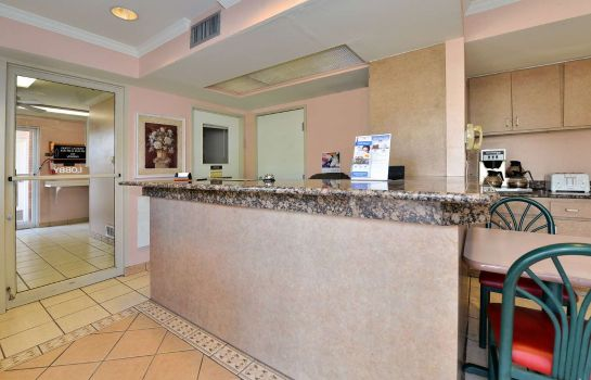 Hotelhalle Americas Best Value Inn-Anthony/El Paso West