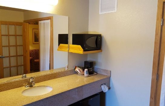 Bathroom MountainView Lodge & Suites