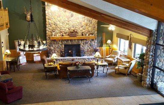 Lobby MountainView Lodge & Suites