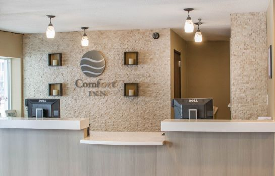 Vestíbulo del hotel Comfort Inn Mayfield Heights Cleveland East