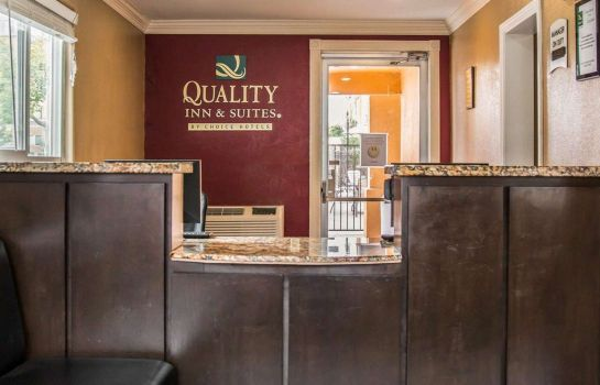 Hall de l'hôtel Quality Inn & Suites Escondido
