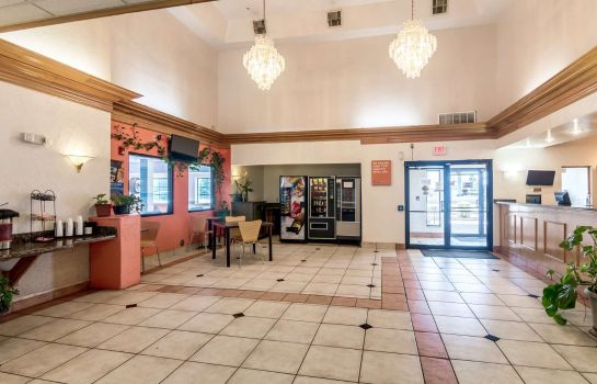 Hall de l'hôtel Motel 6 Oklahoma City