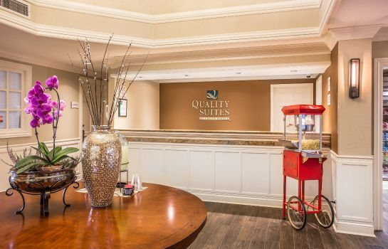 Hall de l'hôtel Quality Suites Buckhead Village