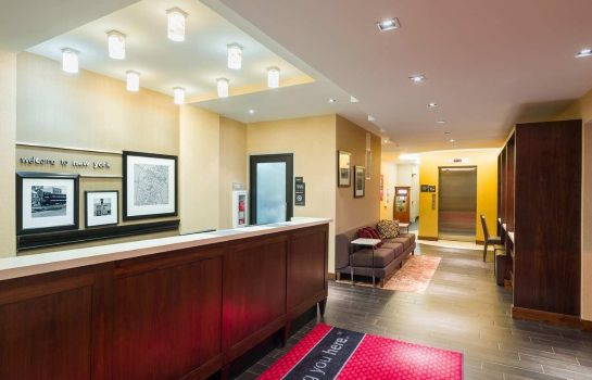 Hotelhalle Hampton Inn Manhattan-Seaport-Financial District