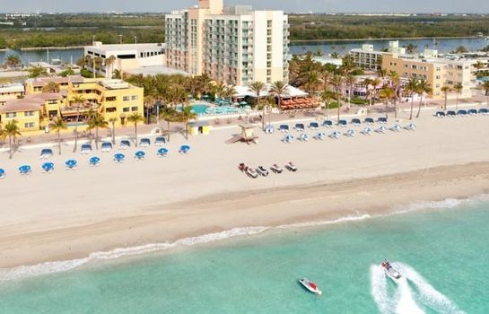 Buitenaanzicht Hollywood Beach Marriott