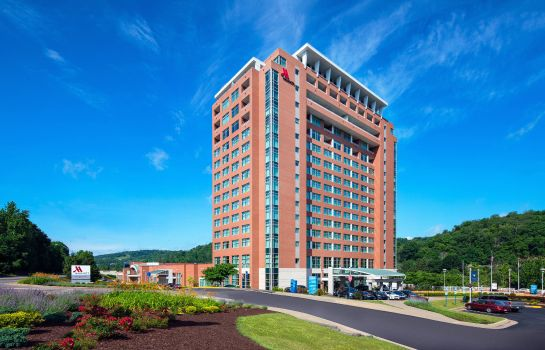 Vista exterior Morgantown Marriott at Waterfront Place