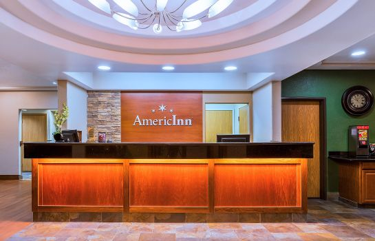 Hotelhalle AmericInn Des Moines Airport