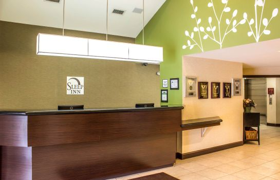 Hotelhalle Sleep Inn Raleigh Durham Airport