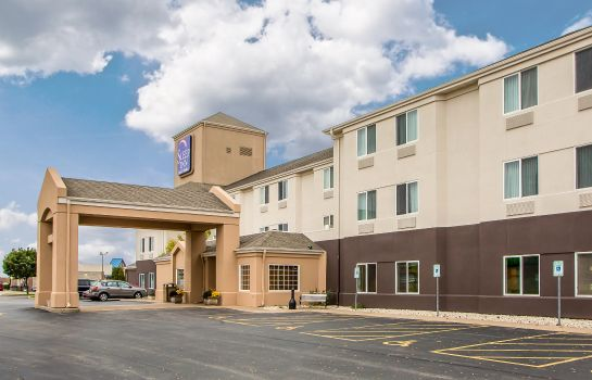 Vista exterior Sleep Inn & Suites Green Bay Airport