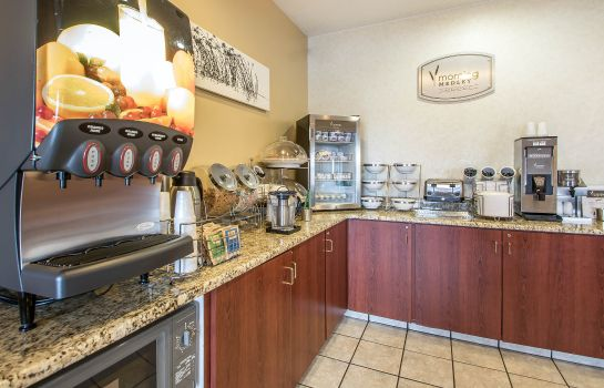 Restaurante Sleep Inn & Suites Green Bay Airport