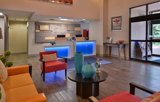 Hotelhalle Holiday Inn Express & Suites AUSTIN NORTH CENTRAL