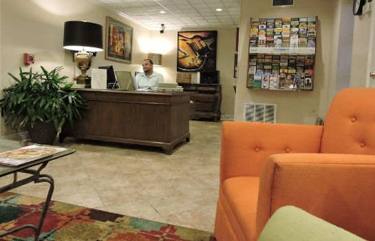 Reception French Quarter Suites Hotel