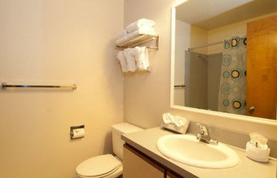 Bagno in camera First Hill Apartments Extended Stay Seattle