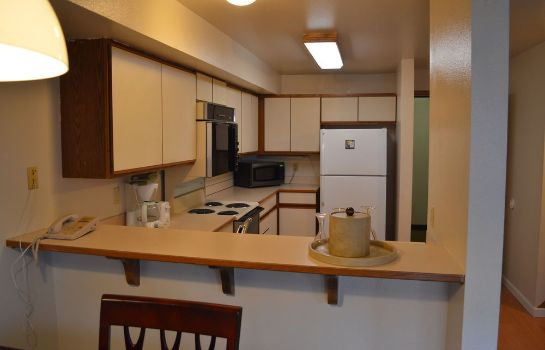 Cucina in camera First Hill Apartments Extended Stay Seattle