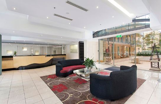 Reception Melbourne Metropole Central Hotel