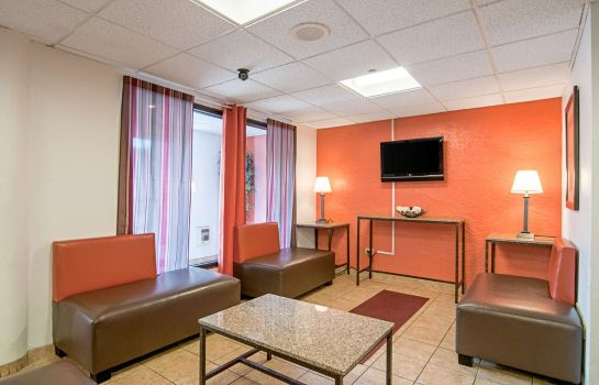 Hall de l'hôtel Motel 6 Bridgeview