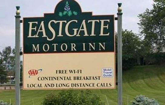 Exterior view EASTGATE MOTOR INN