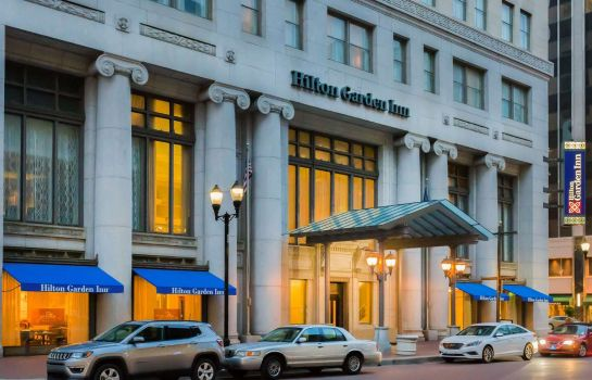 Exterior view Hilton Garden Inn Indianapolis Downtown