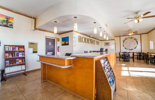Hotelhalle Rodeway Inn at Lake Powell