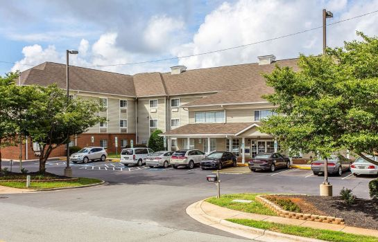 Vista exterior Suburban Extended Stay Hotel Charlotte