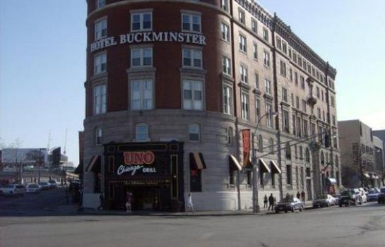 Buitenaanzicht Boston Hotel Buckminster