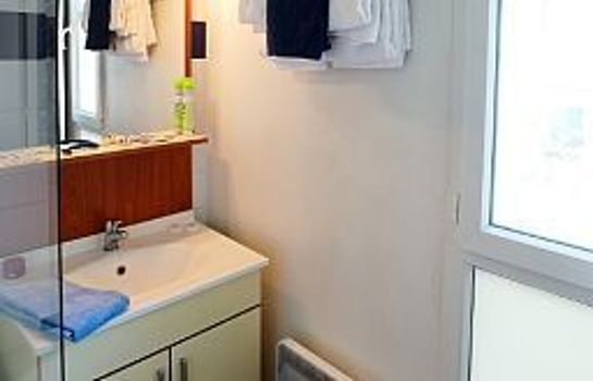 Bagno in camera Appart City Nancy Residence Hoteliere