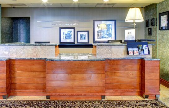 Lobby Hampton Inn  Suites GreenvilleDowntownRiverPlace