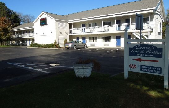 Buitenaanzicht Albany Airport Cocca's Inn & Suites Wolf Rd