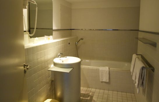 Bagno in camera Appart'Hotel Odalys Cheval Blanc