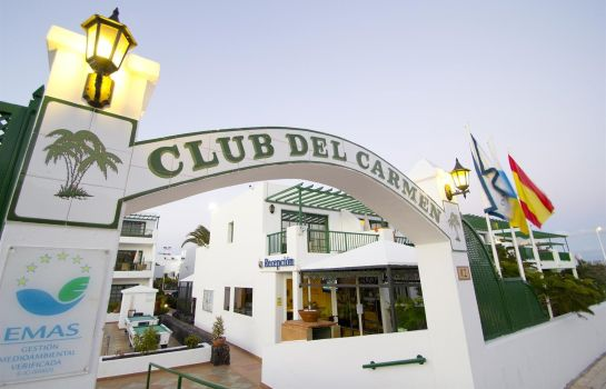 Vestíbulo del hotel Club del Carmen by Diamond Resorts