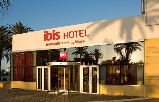 Buitenaanzicht ibis Casablanca City Center