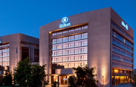 Exterior view Hilton Madrid Airport