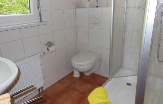 Bagno in camera Linde Gasthaus
