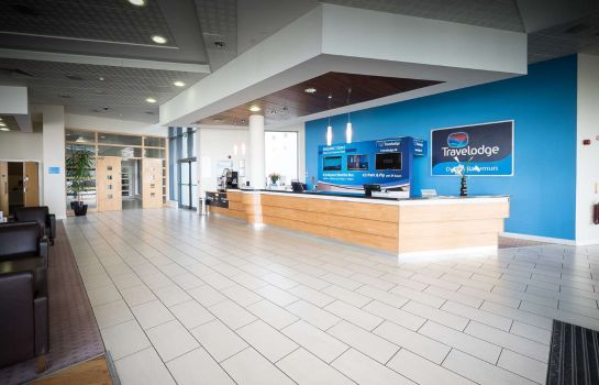 Hall de l'hôtel Travelodge Dublin Airport South
