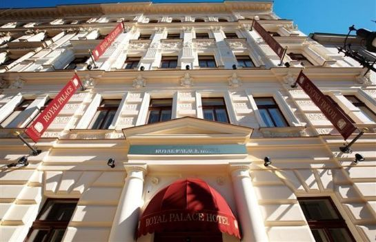 Buitenaanzicht Luxury Family Hotel Royal Palace