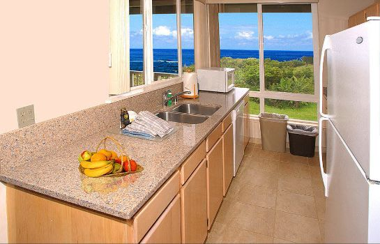 Keuken in de kamer The Cliffs at Princeville