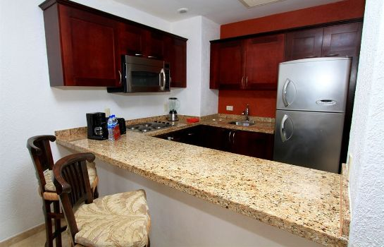 Kitchen in room Bel Air Collection Resort & Spa Los Cabos