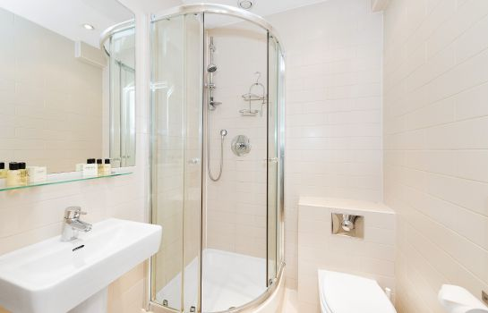 Bagno in camera Hyde Park Executive Apartments