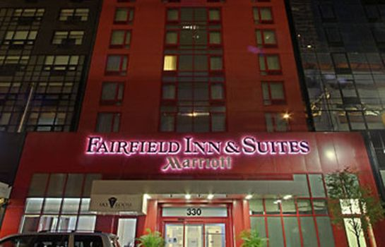 Vue extérieure Fairfield Inn & Suites New York Manhattan/Times Square