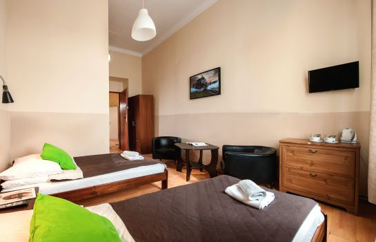 Chambre double (standard) Station Aparthotel