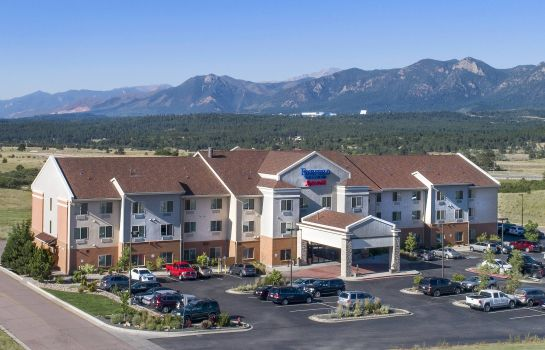 Vista esterna Fairfield Inn & Suites Colorado Springs North/Air Force Academy